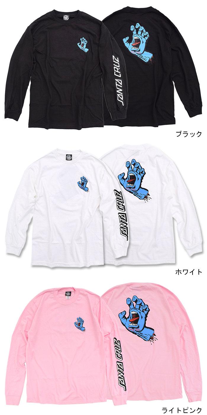 SANTA CRUZサンタクルーズのTシャツ Screaming Hand05