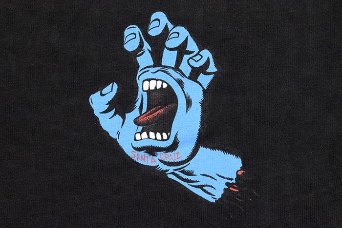 SANTA CRUZサンタクルーズのTシャツ Screaming Hand06