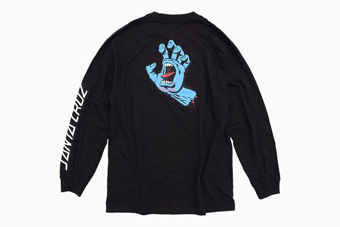SANTA CRUZサンタクルーズのTシャツ Screaming Hand08