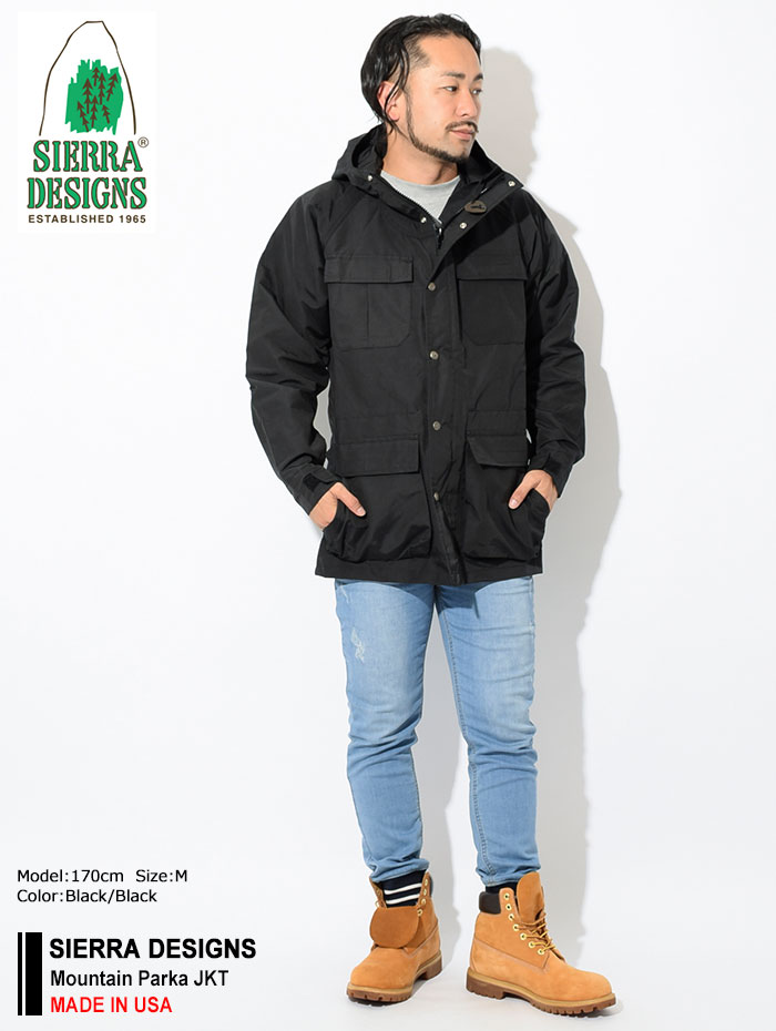 SIERRA DESIGNSシエラデザインズのジャケット Mountain Parka01