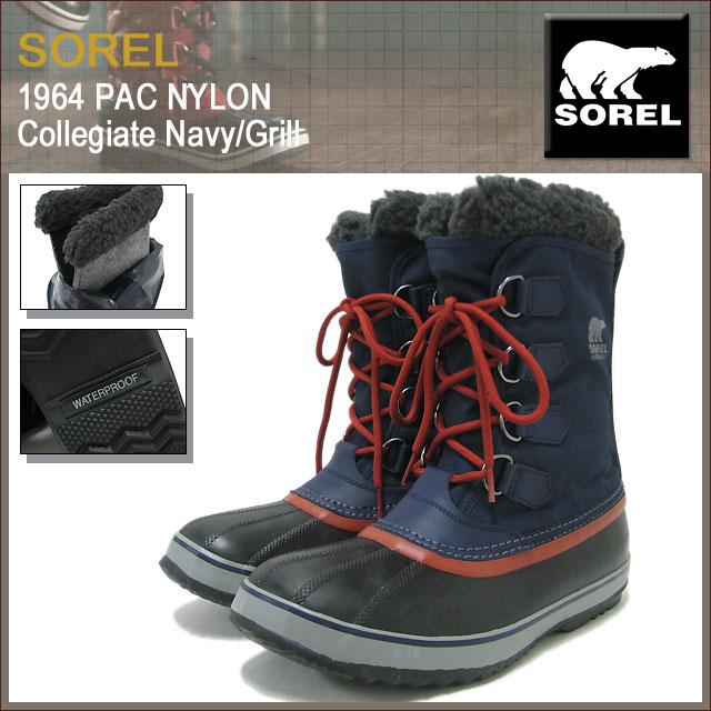 d4e64a3bc1d Sorel SOREL boots 1964 Pack nylon Collegiate Navy/Grill men's men (Sorel  1964 PAC NYLON Collegiate Navy/Grill Boot Boots snow boots winter, boots ...
