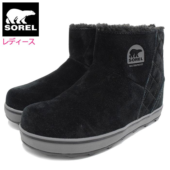 SORELソレルのブーツ GLACY SHORT01