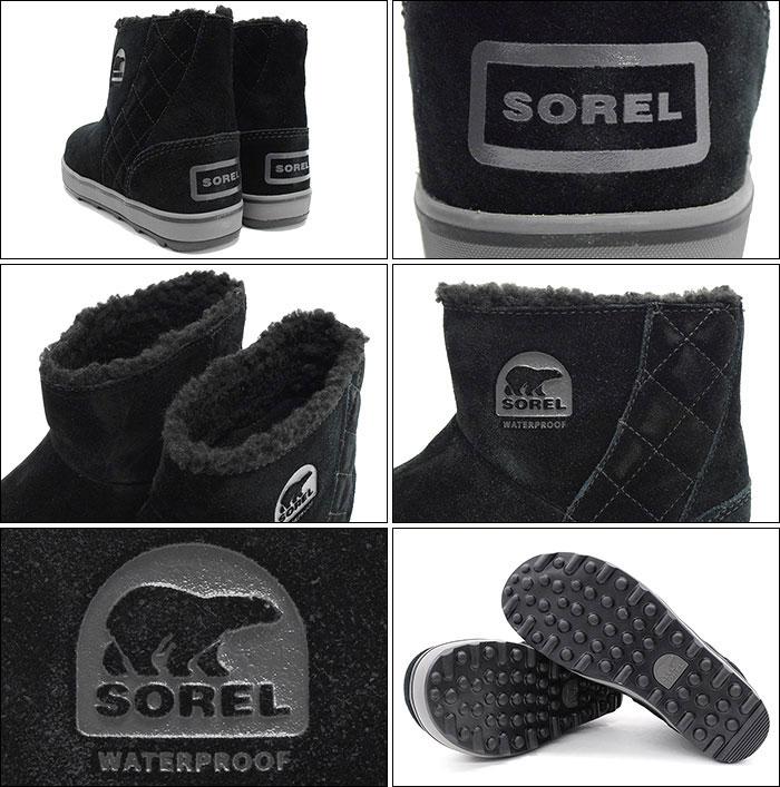 SORELソレルのブーツ GLACY SHORT02