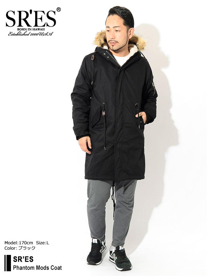SRSエスアールエスのジャケット Phantom Mods Coat01