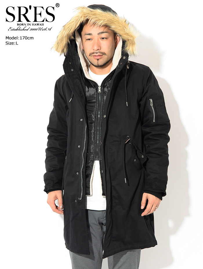 SRSエスアールエスのジャケット Phantom Mods Coat04