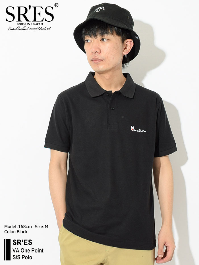 SRSエスアールエスのポロシャツ VA One Point Polo02