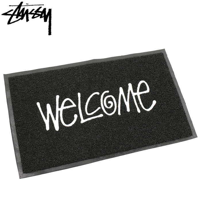 STUSSYステューシーのマット PVC Welcome01