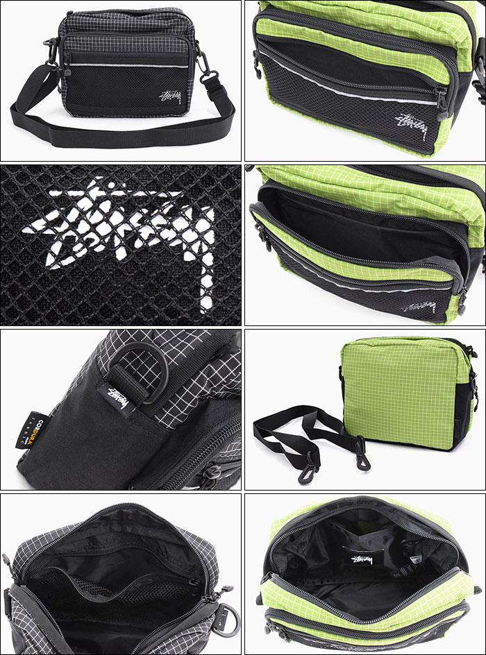 STUSSYステューシーのショルダーバッグ Ripstop Nylon Shoulder Bag03