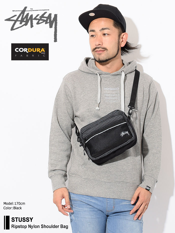 STUSSYステューシーのショルダーバッグ Ripstop Nylon Shoulder Bag01
