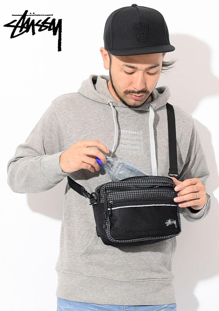 STUSSYステューシーのショルダーバッグ Ripstop Nylon Shoulder Bag02