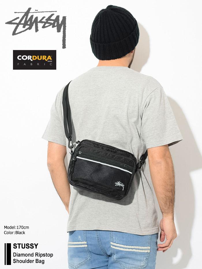 STUSSYステューシーのショルダーバッグ Diamond Ripstop Shoulder Bag01