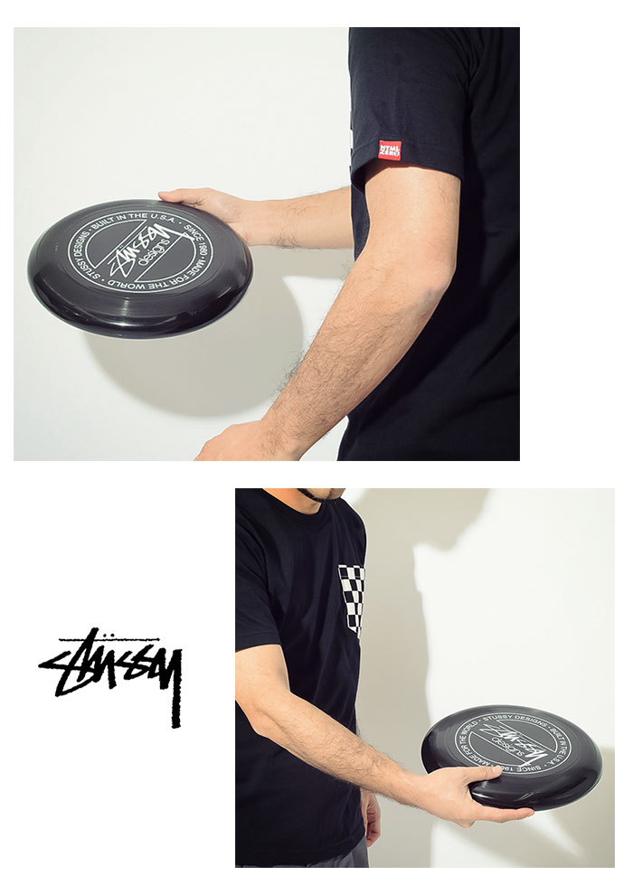STUSSYステューシーのフリスビー Stussy Frisbee02