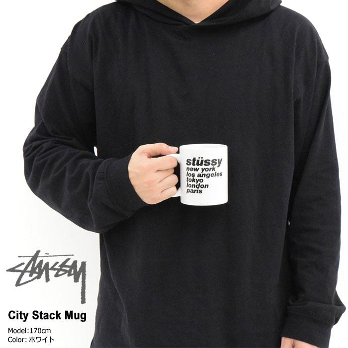 STUSSYステューシーの小物 City Stack Mug01
