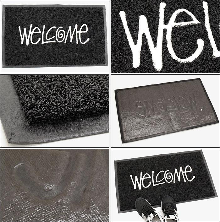 STUSSYステューシーのマット PVC Welcome02
