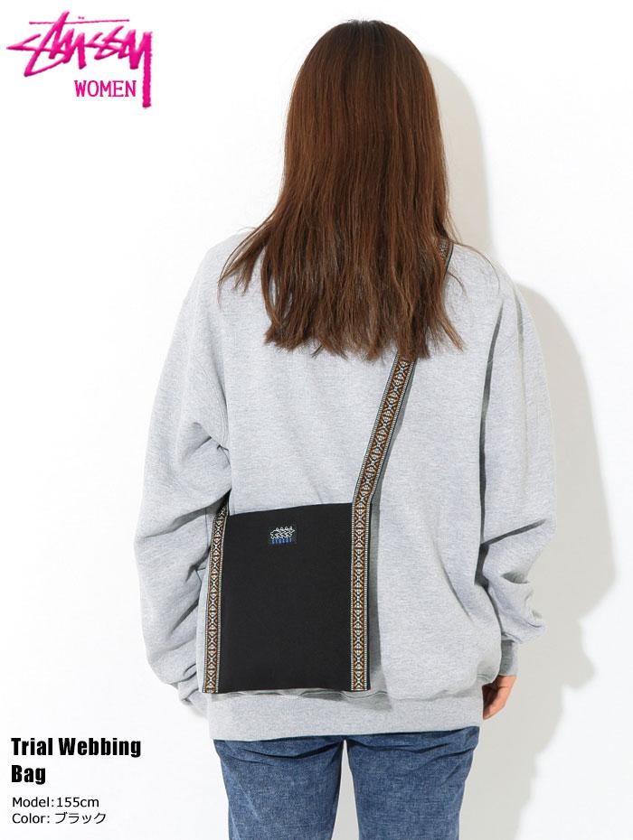 STUSSYステューシーのショルダーバッグ WOMEN Trial Webbing Bag01