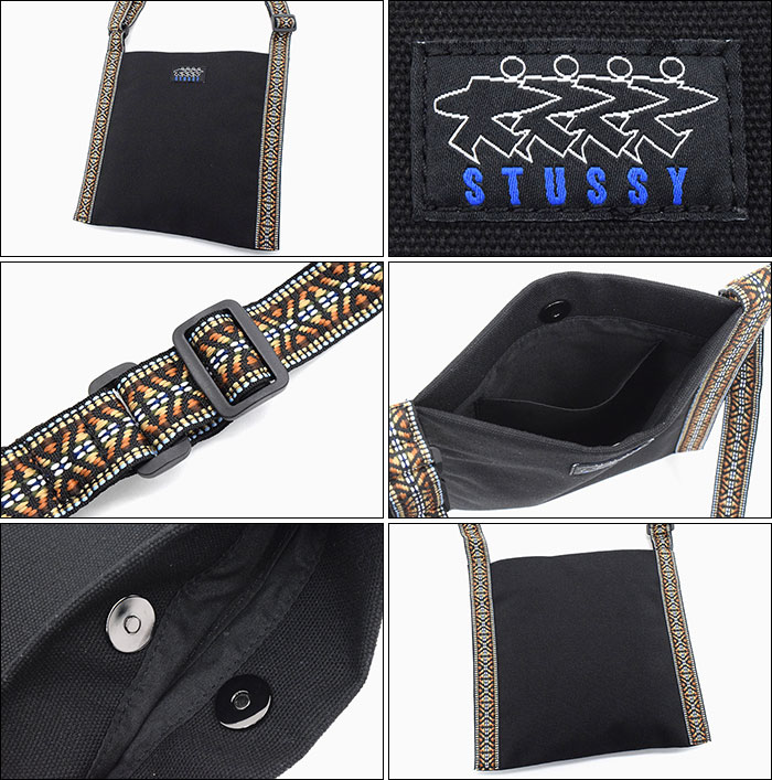STUSSYステューシーのショルダーバッグ WOMEN Trial Webbing Bag03