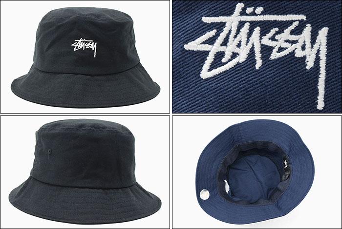 STUSSYステューシーのハット SP19 Stock Bucket Hat02