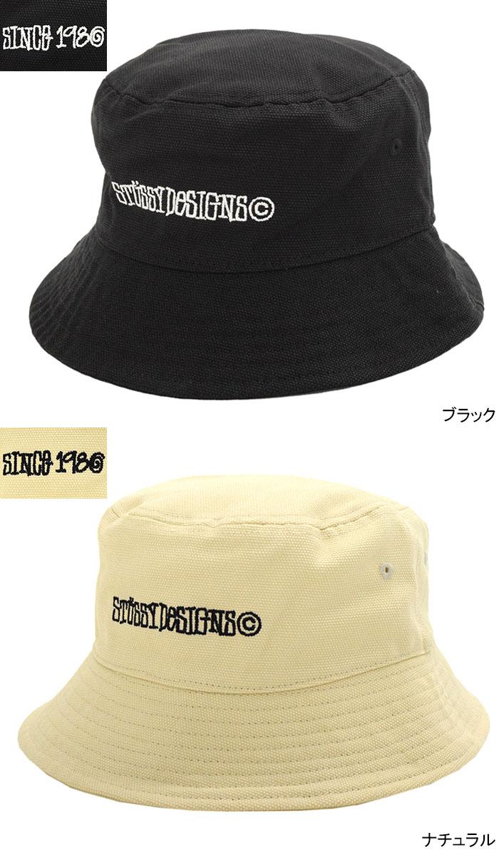 STUSSYステューシーのハット Canvas Wide Brim Bucket Hat03