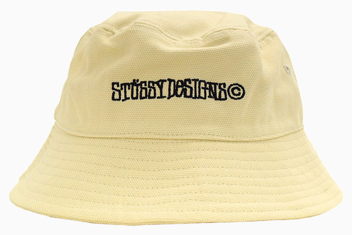STUSSYステューシーのハット Canvas Wide Brim Bucket Hat04