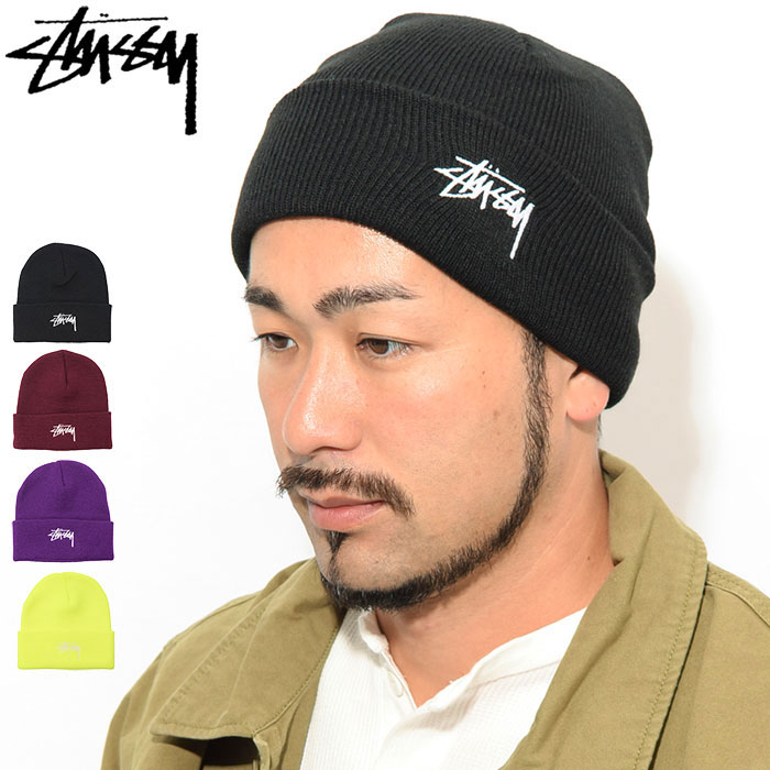 STUSSYステューシーのニット帽 FA19 Stock Cuff Beanie01