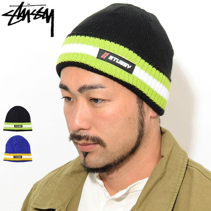 STUSSYステューシーのニット帽 Striped Cuff Beanie01