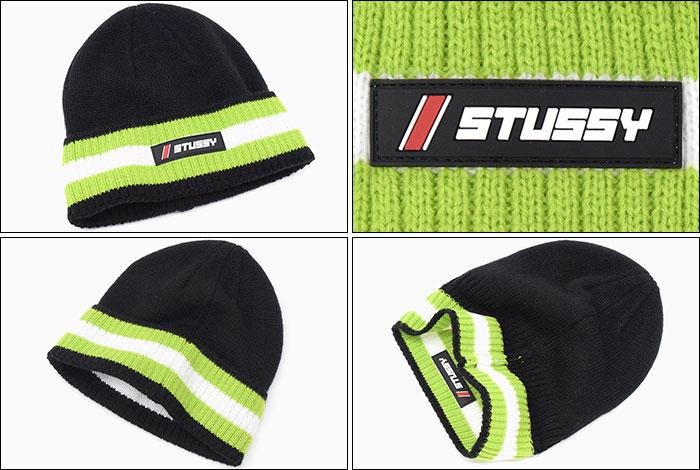 STUSSYステューシーのニット帽 Striped Cuff Beanie02