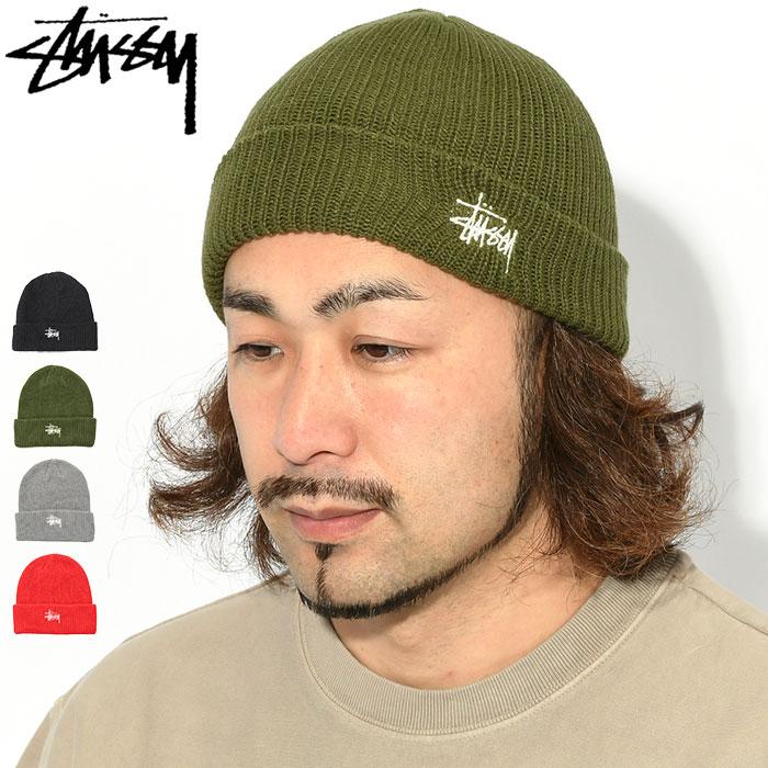 STUSSYステューシーのニット帽 Basic Cuff Beanie01