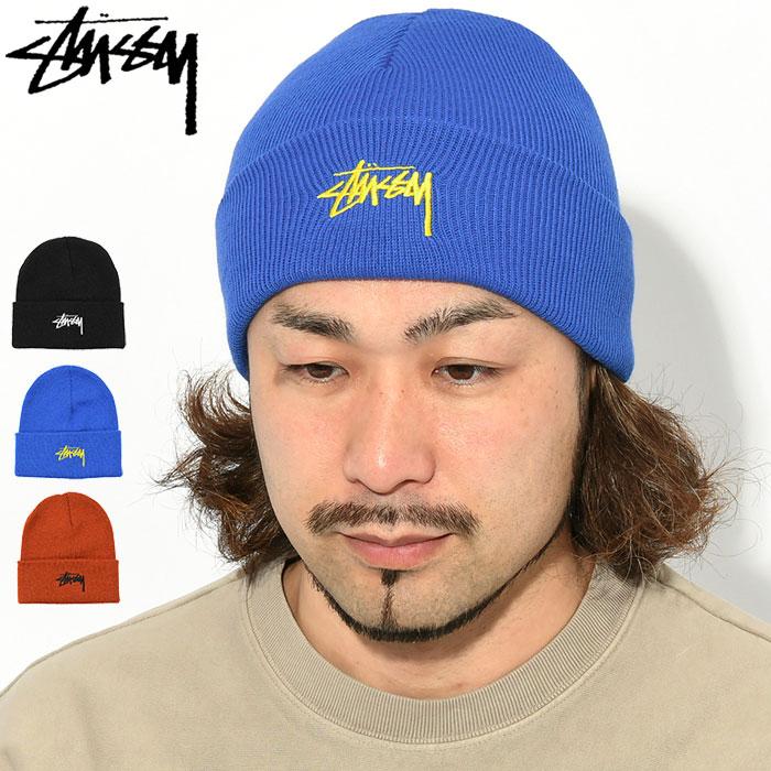 STUSSYステューシーのニット帽 Stock Cuff Beanie01