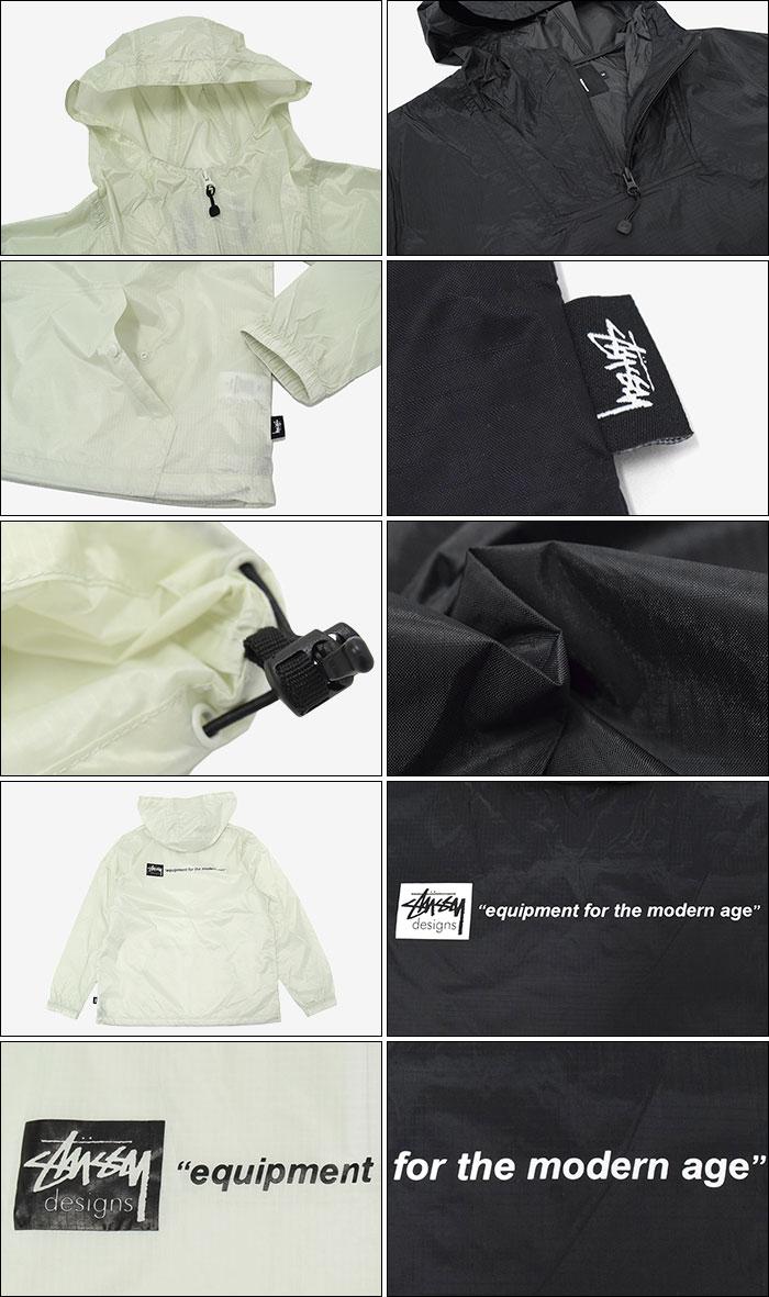 STUSSYステューシーのジャケット Nylon Ripstop Pullover04