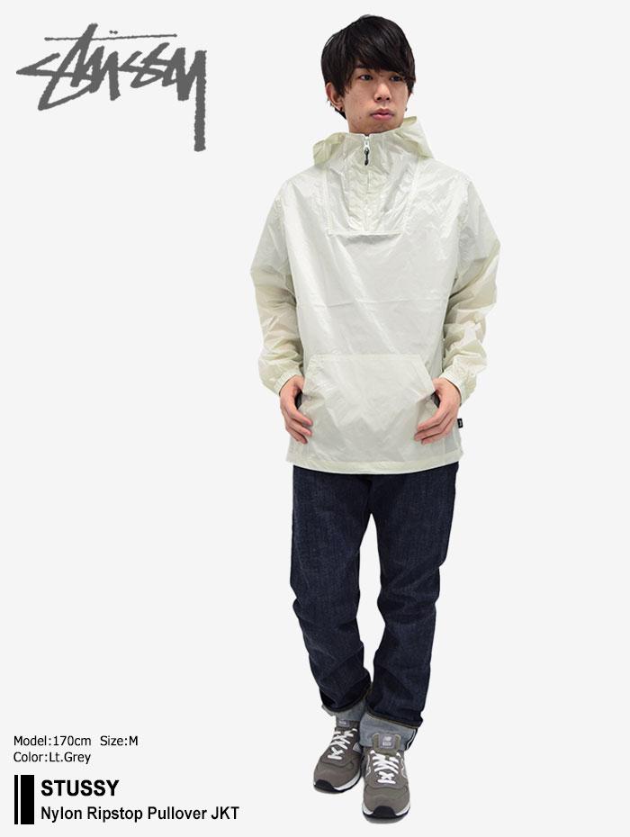 STUSSYステューシーのジャケット Nylon Ripstop Pullover01