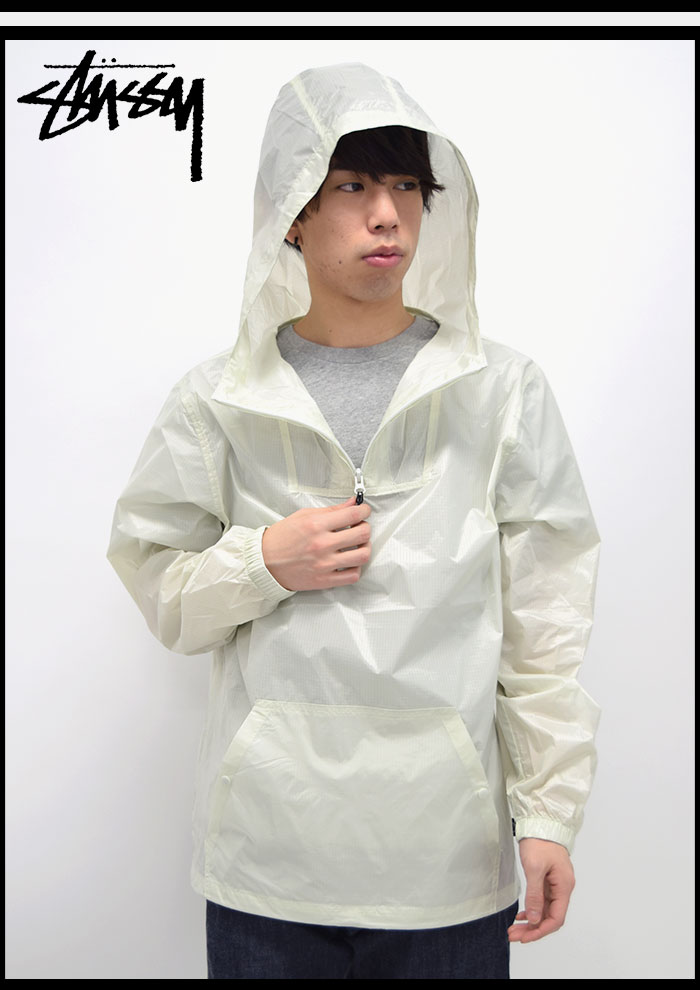 STUSSYステューシーのジャケット Nylon Ripstop Pullover02