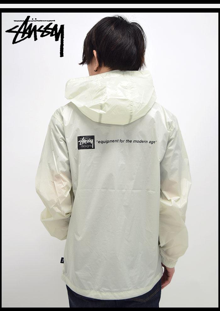STUSSYステューシーのジャケット Nylon Ripstop Pullover03