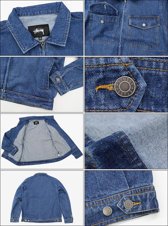 STUSSYステューシーのジャケット Denim Garage04