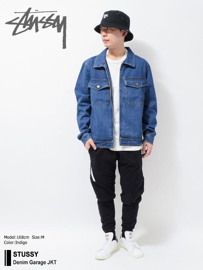STUSSYステューシーのジャケット Denim Garage01