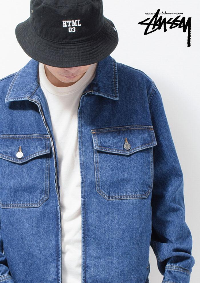 STUSSYステューシーのジャケット Denim Garage02