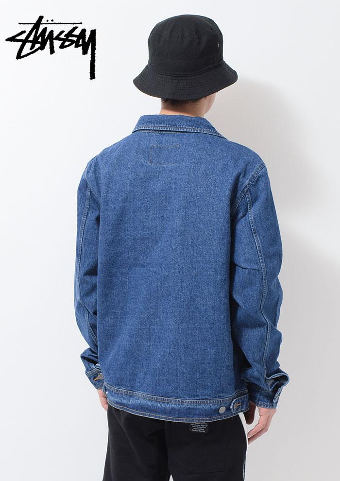 STUSSYステューシーのジャケット Denim Garage03