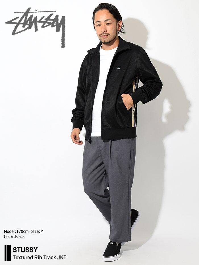 STUSSYステューシーのジャケット Textured Rib Track01