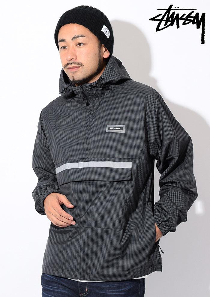 STUSSYステューシーのジャケット Contrast Ripstop Anorak02