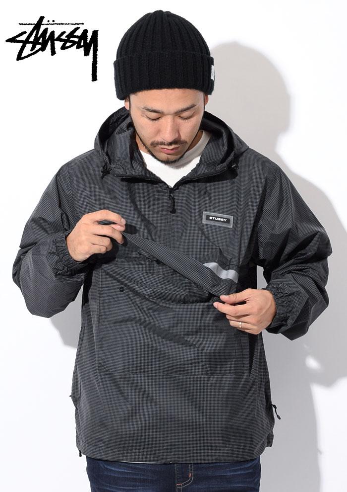 STUSSYステューシーのジャケット Contrast Ripstop Anorak03