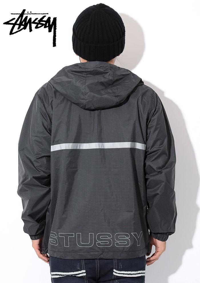STUSSYステューシーのジャケット Contrast Ripstop Anorak04
