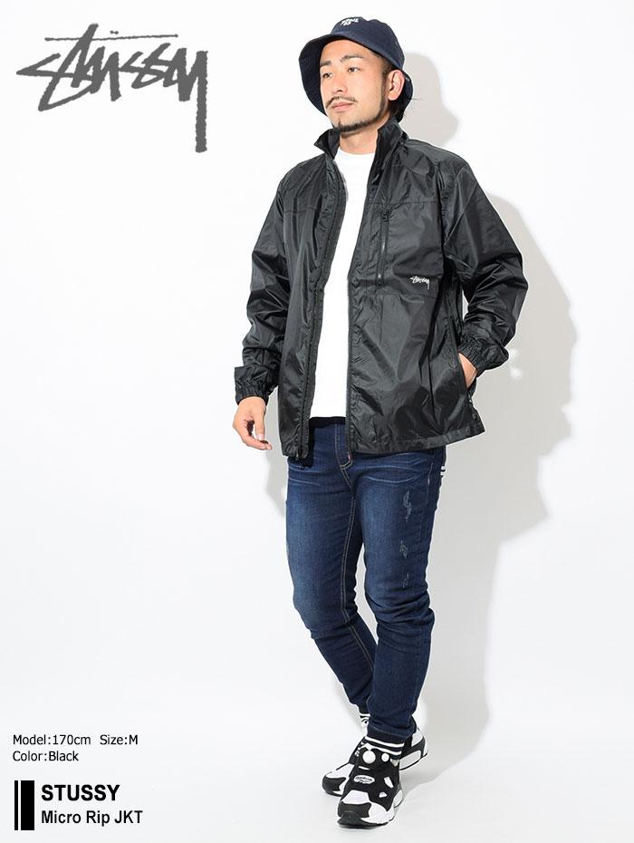 STUSSYステューシーのジャケット Micro Rip01