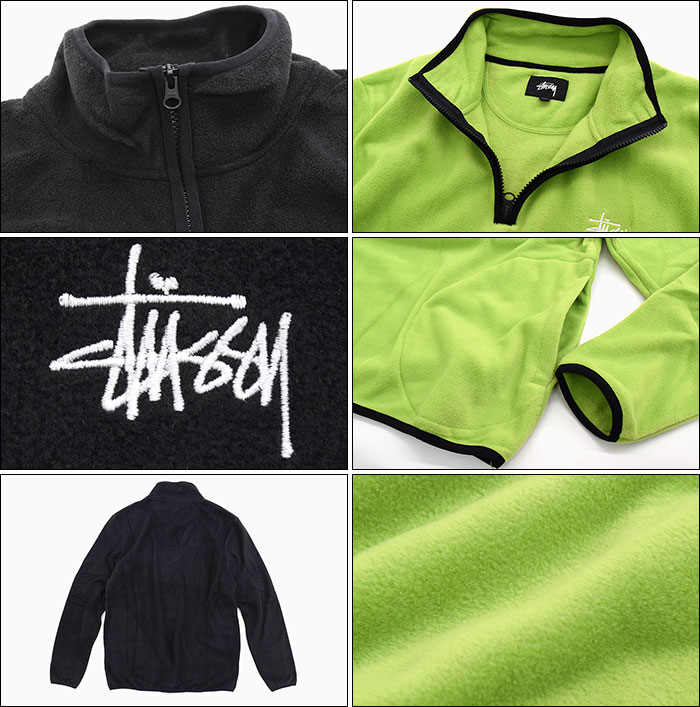 STUSSYステューシーのジャケット Polar Fleece Half Zip04