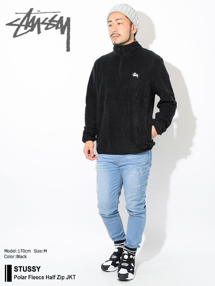 STUSSYステューシーのジャケット Polar Fleece Half Zip01