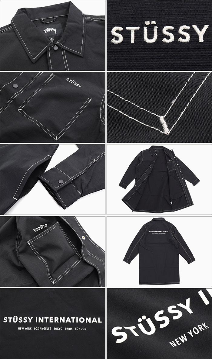STUSSYステューシーのジャケット Nylon Shop Coat05