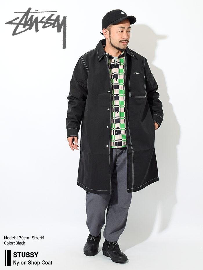 STUSSYステューシーのジャケット Nylon Shop Coat01