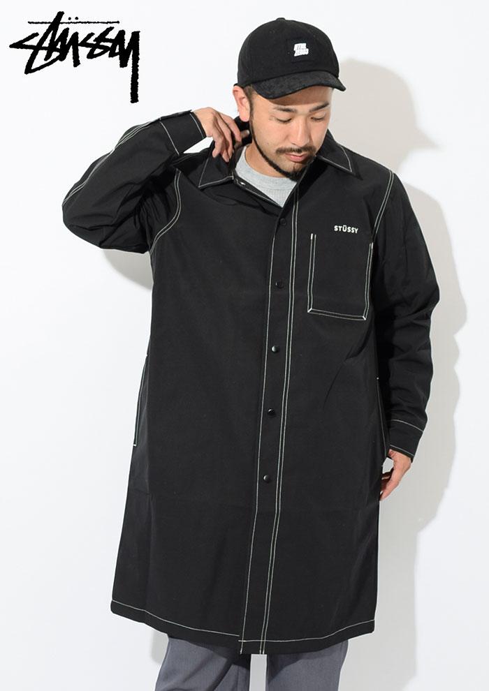 STUSSYステューシーのジャケット Nylon Shop Coat02