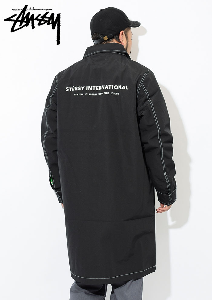 STUSSYステューシーのジャケット Nylon Shop Coat04