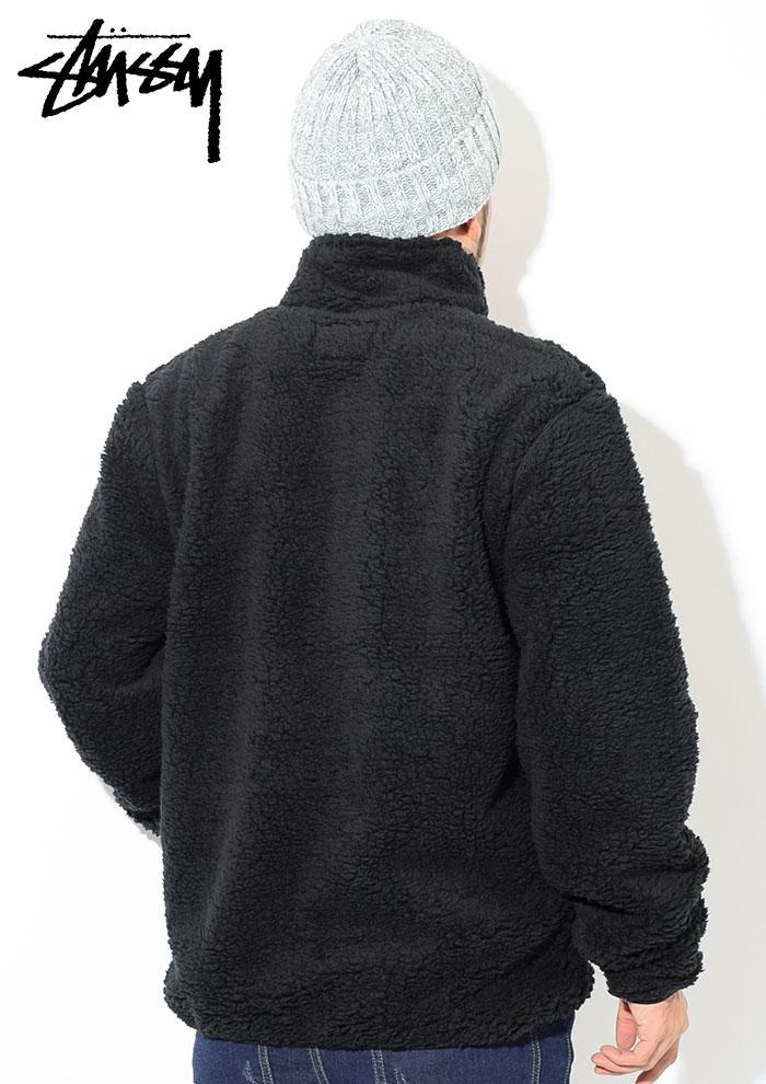 STUSSYステューシーのジャケット Sherpa Mock03