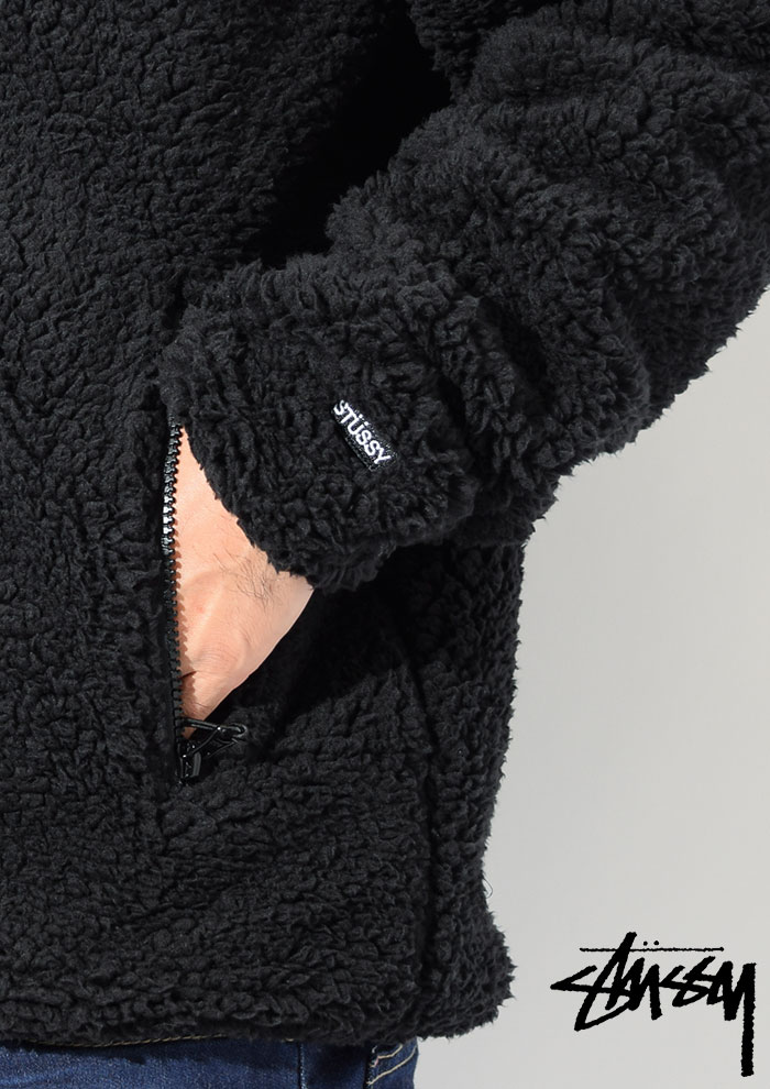 STUSSYステューシーのジャケット Sherpa Mock04
