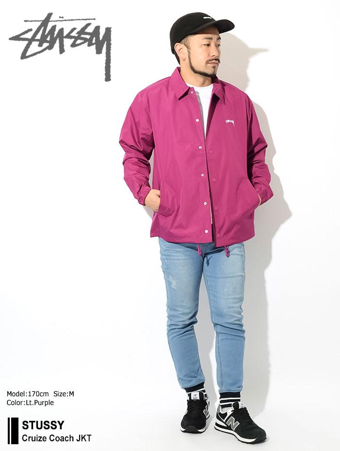 STUSSYステューシーのジャケット Cruize Coach01